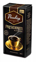 Paulig Presidentti Black Label, молотый, 250г