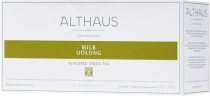 Althaus Milk Oolong чай улун в пакетиках на чайник, 20 шт